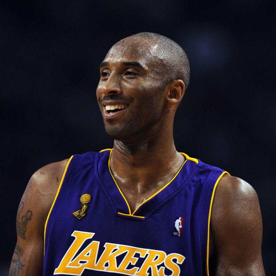 Kobe Bryant beim Spiel