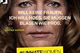 #unhatewomen: Kampagne kritisiert verbale Gewalt gegen Frauen