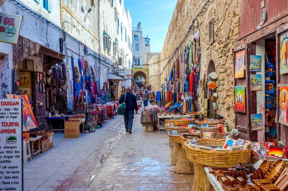 Straße in Essaouira
