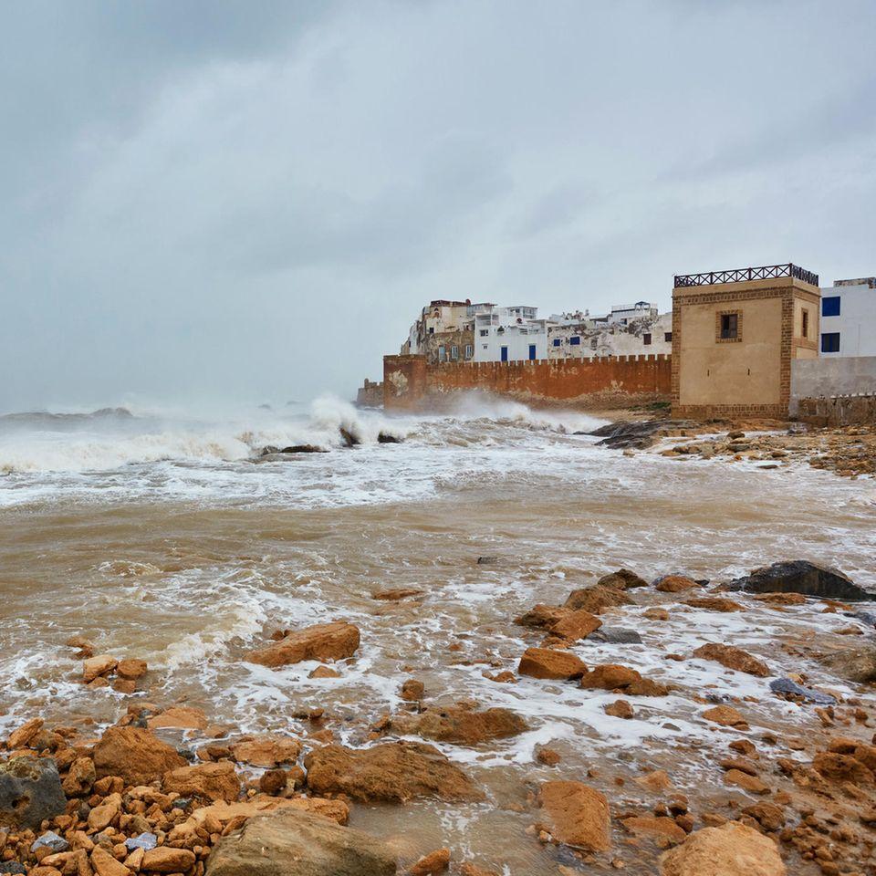 Küste und Stadtmauer von Essaouira