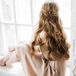 Konfirmationsfrisuren: Offene Haare