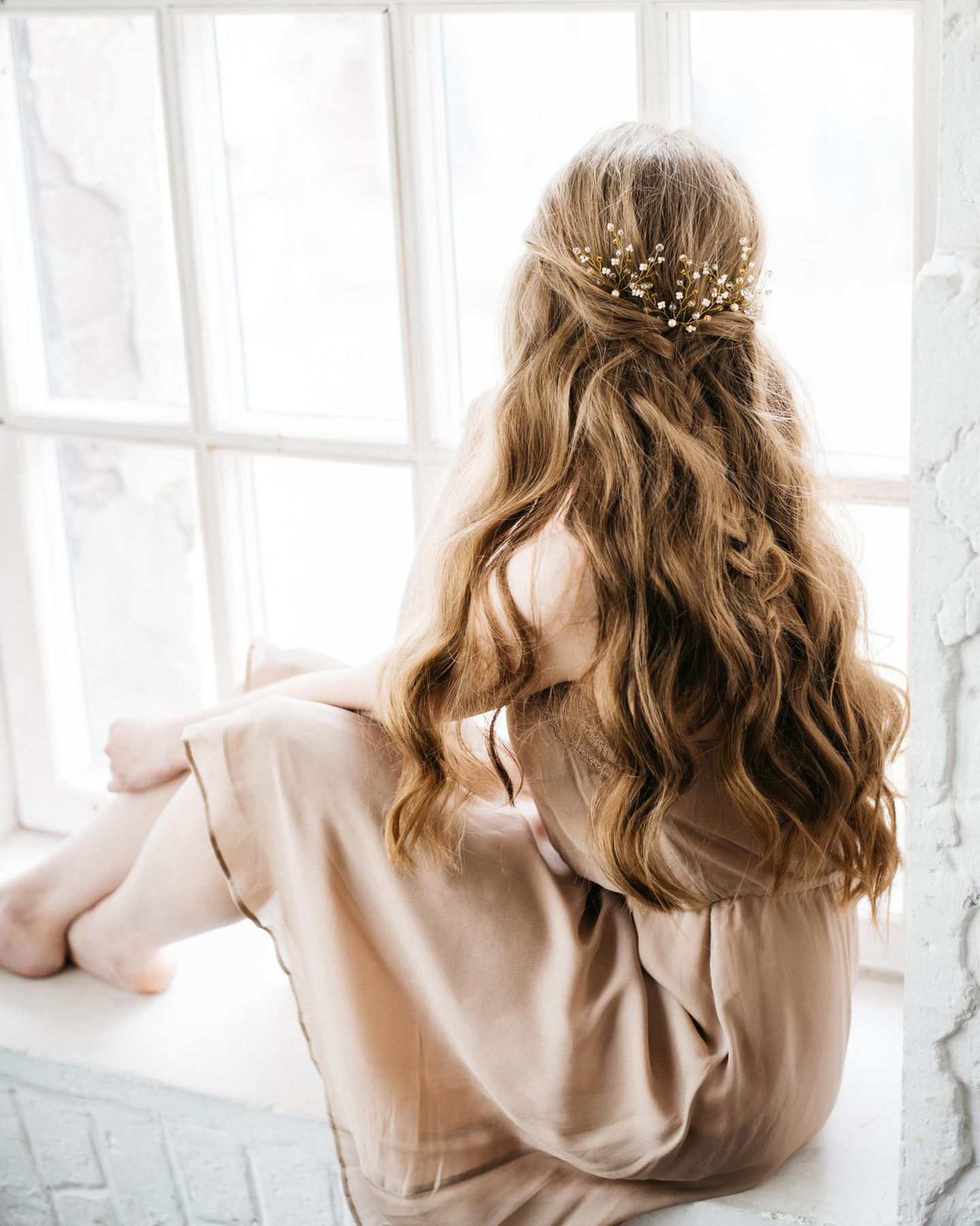 Offen lange haare frisuren anleitung hochzeit Frisur Anleitung