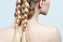 Konfirmationsfrisuren: Geflochtene Haare