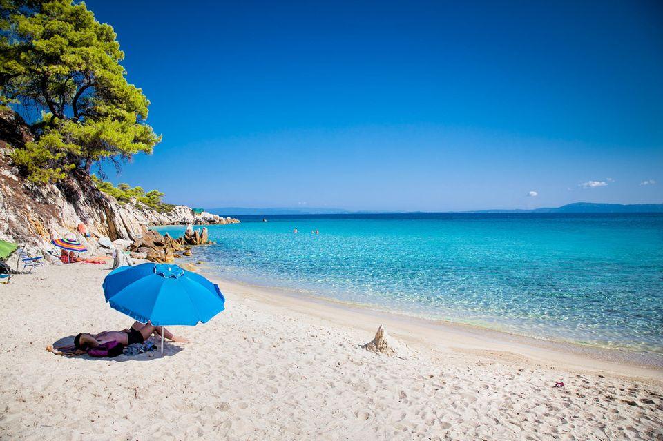 Schönster strand chalkidiki kassandra