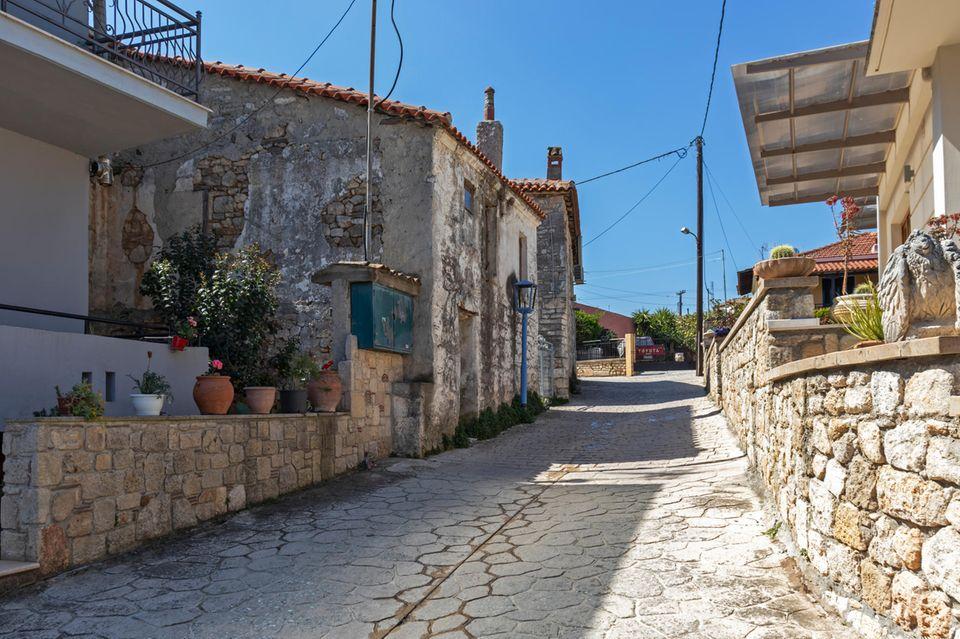 Afytos Dorf Chalkidiki