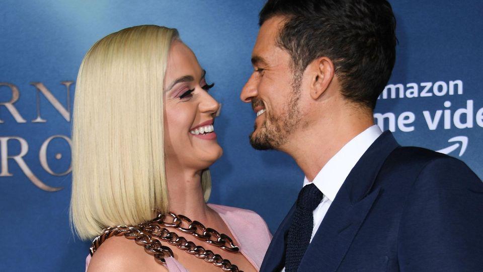 Katy Perry: So süß hat sie ihre Schwangerschaft verraten!