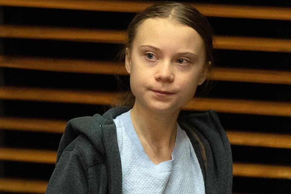 Greta Thunberg in Brussel