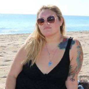 Samantha nahm 50 Kilo ab: Samantha vor der Abnahme