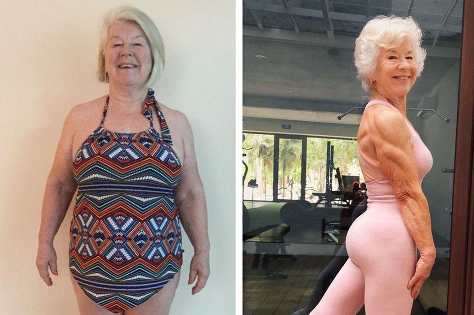 Joan MacDonald: So hat die 70-Jährige 28 Kilo verloren