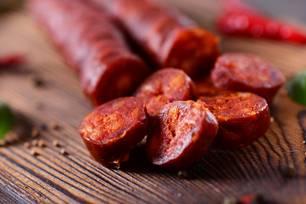 Geschnittene Chorizo