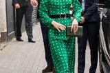 Herzogin Kate: unterwegs im grünen Kleid