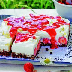 Erdbeer-Schokokuchen