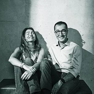 Cem Özdemir: Cem Özdemir und Pia Castro