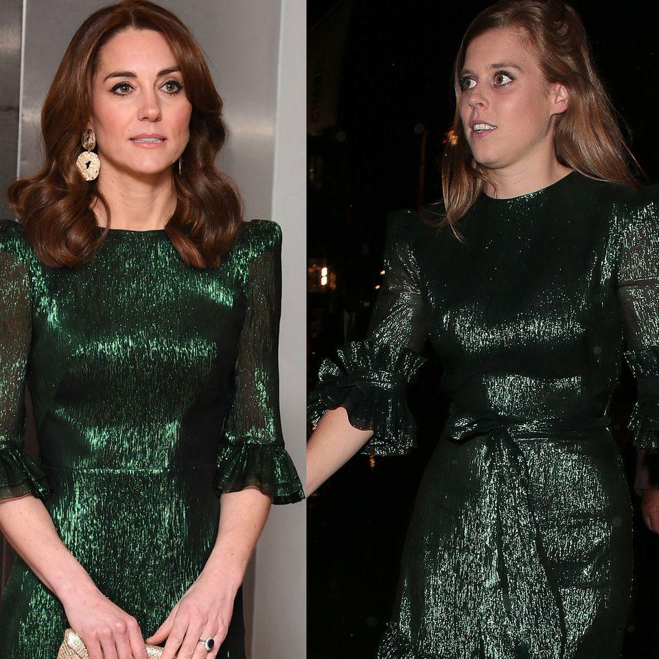 Gleiche Outfits der Royals: Prinzessin Beatrice und Herzogin Kate