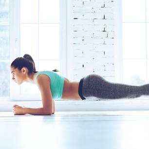 Unterarmstütz - trainiert den ganzen Körper