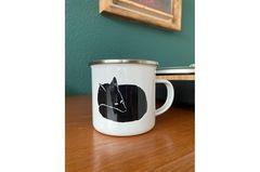 Emaille-Kaffeebecher