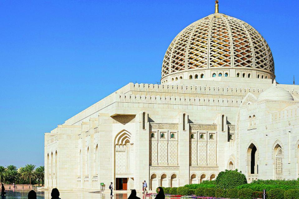 Reisetipps Oman: Sultan-Quabus-Moschee