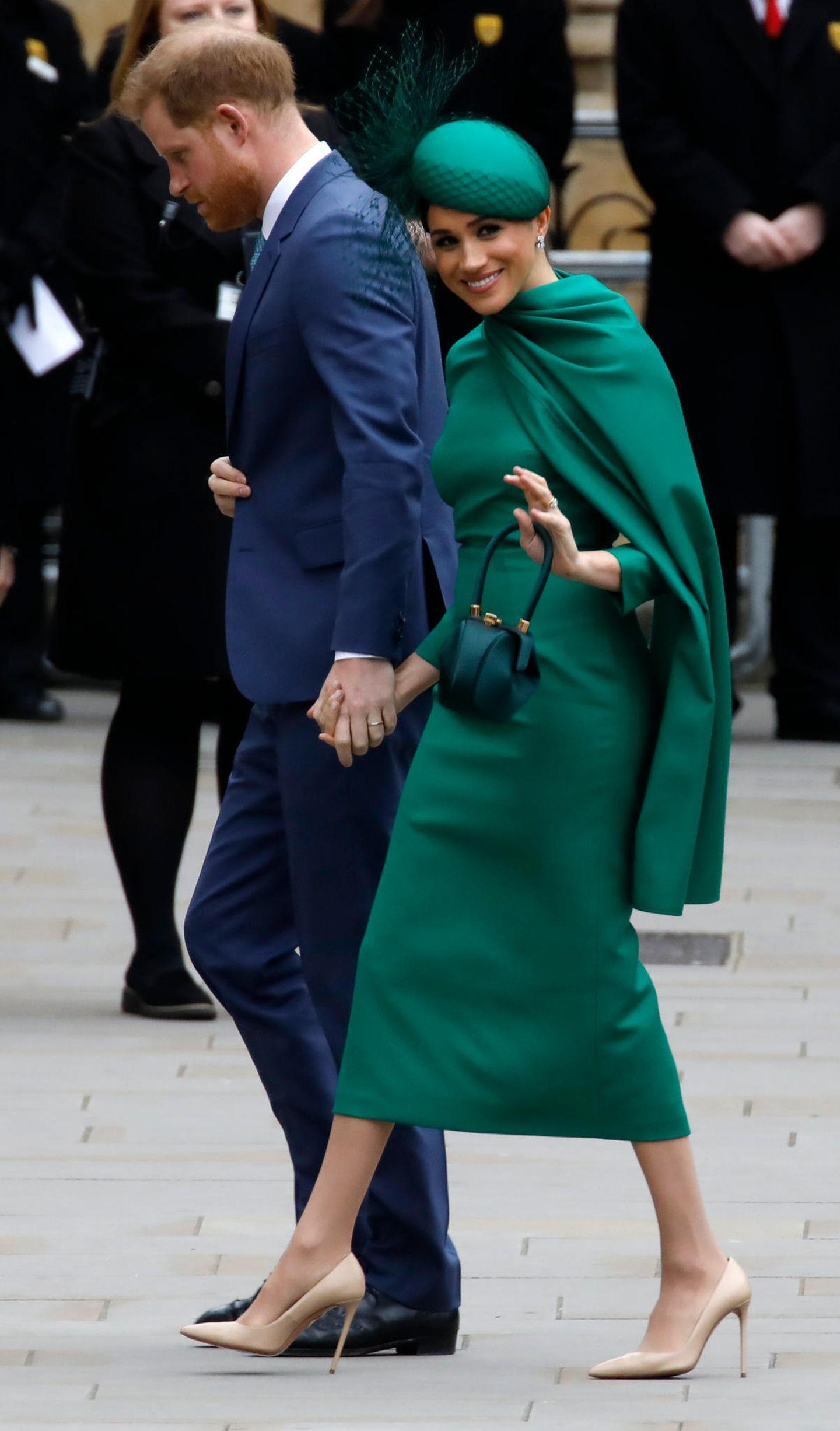 Meghan Markle: mit Prinz Harry unterwegs
