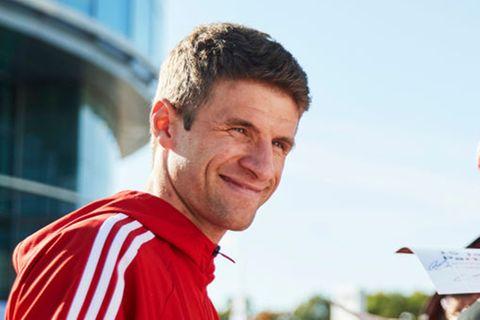 Thomas Müller: Der Fußballer wird zum Geburtshelfer