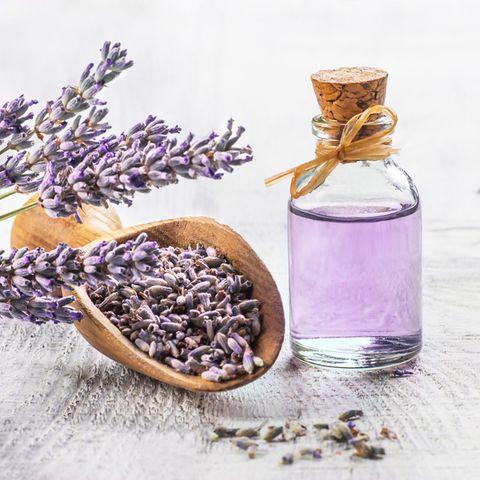 Natürliche Schlafmittel: Lavendelöl