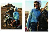 Jeans-Trends 2020: Jeanshemd zu Hose und Stiefeln