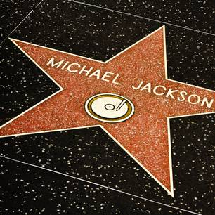 Michael Jacksons Stern auf dem Hollywood Walk of Fame