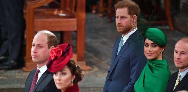 Royal-Abschied von Harry + Meghan: Diese 5 Szenen fallen auf