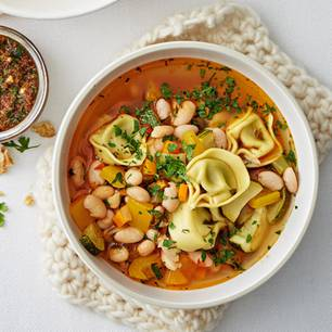 Ribollita mit Tortellonis