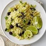 Basmati-Reis mit Pistazien und Kirschen