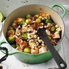 Tofu-Stir-Fry mit Schalotten-Konfitüre
