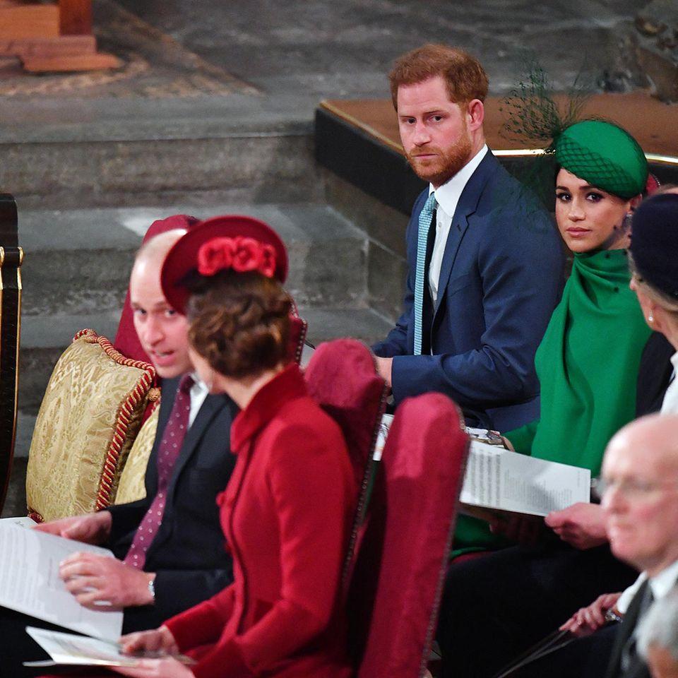 Royal-News über Kate+William: Was sie beim Royal-Treffen flüsterten