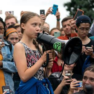 Greta Thunberg Demonstration