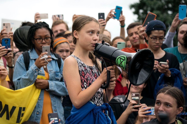 Greta Thunberg Demonstration