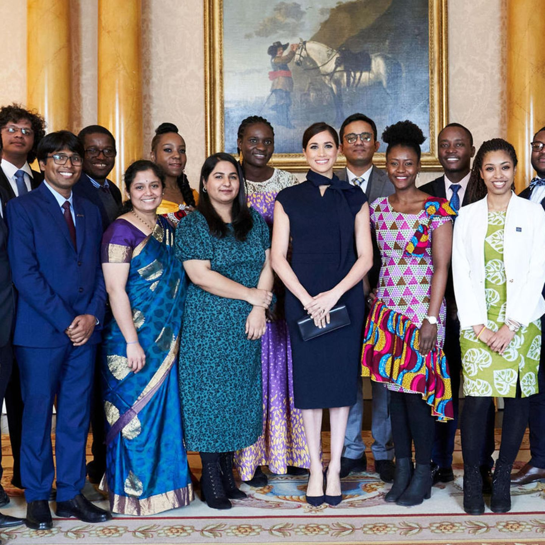 Meghan Markle: im Buckingham Palace