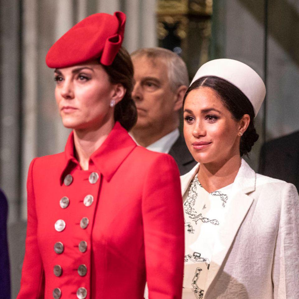 Royal-News über Meghan: So denkt sie über Kate + William