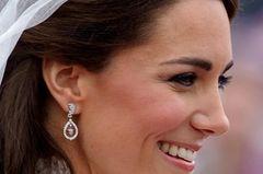 Makeup-Looks der Royals: Herzogin Kate mit Hochzeitsmakeup