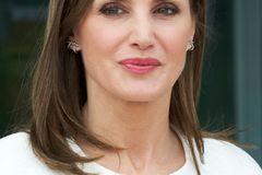 Makeup-Looks der Royals: Königin Letizia mit rosa Lippen