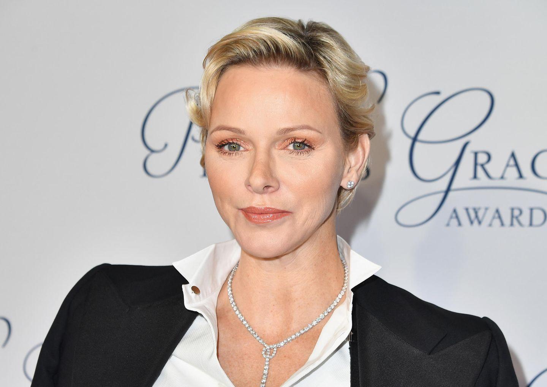 Makeup-Looks der Royals: Charlene von Monaco mit Lidschatten