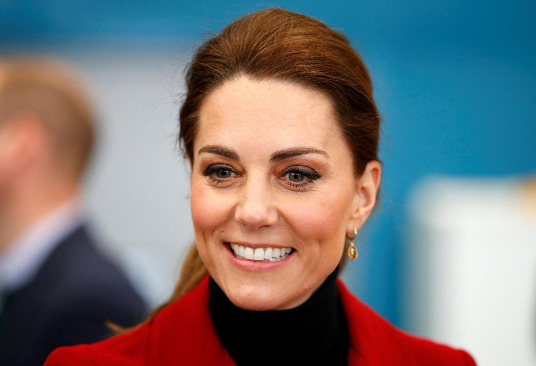 Makeup-Looks der Royals: Herzogin Kate mit braunem Lidschatten
