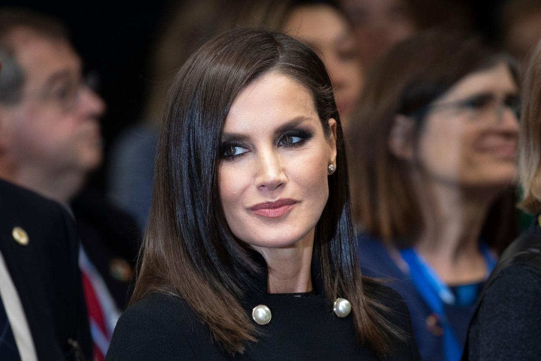 Makeup-Looks der Royals: Letizia mit Smokey Eyes