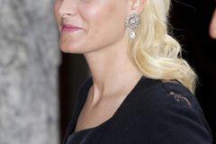 Makeup-Looks der Royals: Prinzessin Mette-Marit mit glossigen Lippen