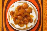 Mandel-Biskuit mit Aprikosen