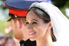 Makeup-Looks der Royals: Meghan Markle mit dezentem Hochzeitsmakeup