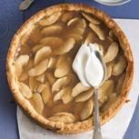"""Apfelkuchen """"Normande"""" mit Calvados"""