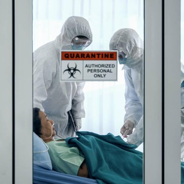 Corona aktuell: Patient in Quarantäne