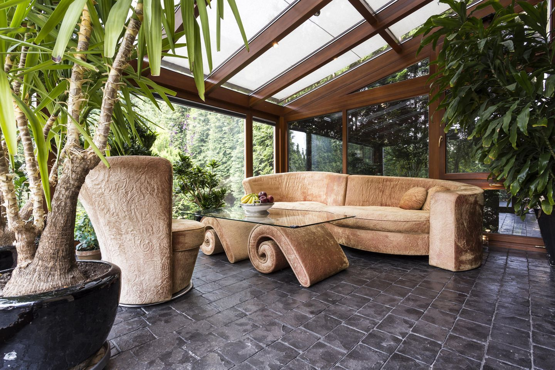 Wintergarten einrichten: Möbel im Wintergarten