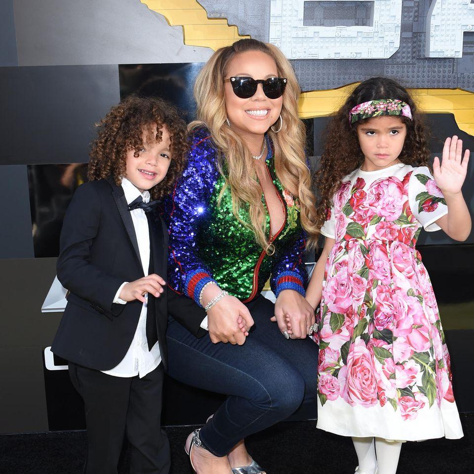 Mariah Carey und Zwillinge