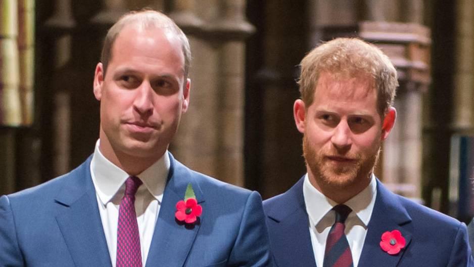 Prinz Harry + Prinz William: Verhältnis ist schlimmer denn je