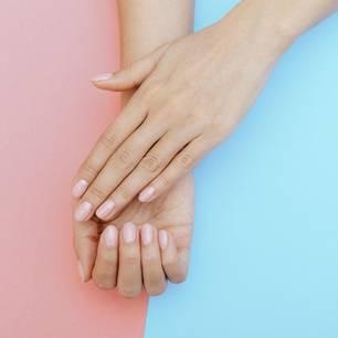 Handmaske selber machen: gepflegte Hände