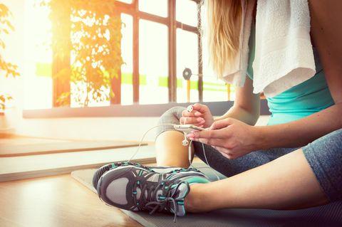 Die besten Fitness-Apps!
